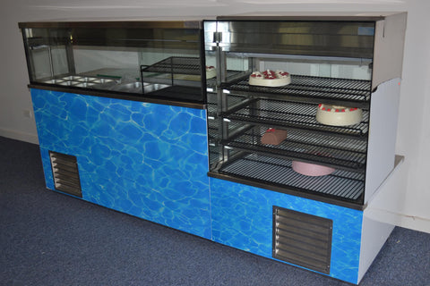 Custom Refrigeration Display
