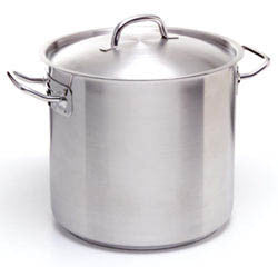 Stockpot & Lid- Stainless Steel