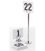 Table Number Set- Black on White