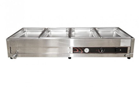 Woodson W.BMA23 2 row 3 bay Large Bain Marie