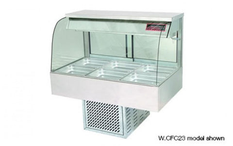 Woodson W.CFC26 6 Module Curved Cold Food Display