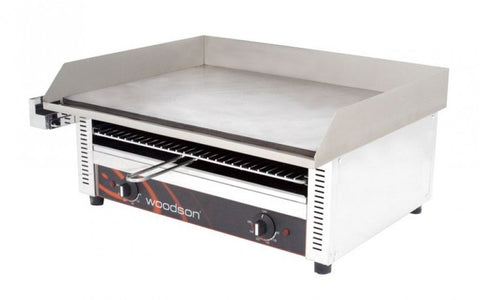Griddle Toaster Woodson W.GDT75 Large