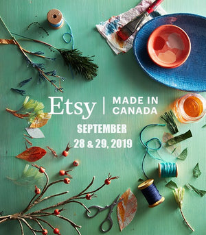 Etsy Made in Canada Market - Sep 28-29