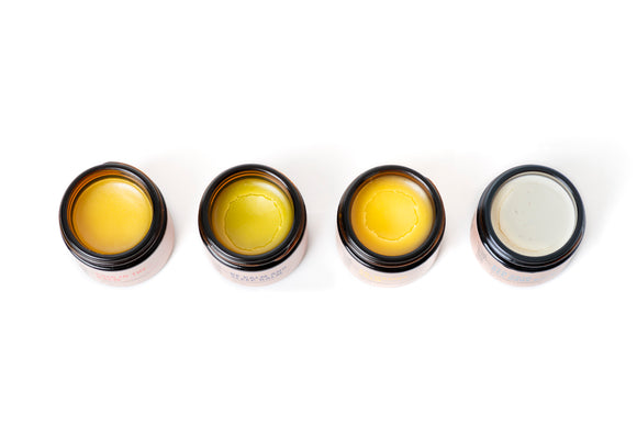 What's the difference in formulation between a cream, a salve, a lotion, and a body butter?