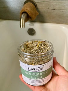 Boreal Forest Retreat Salt Soak