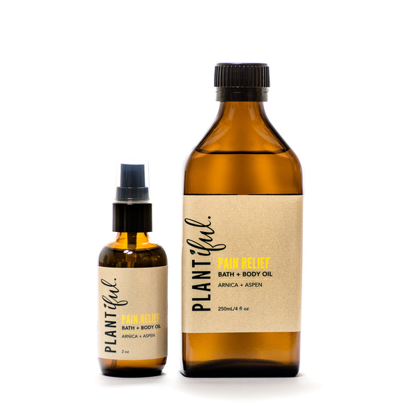 Pain Relief Bath + Body Oil