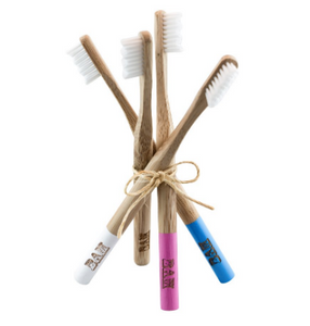 Bamboo toothbrushes by BamBrush!