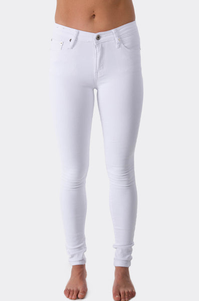 Wakee Jeans White