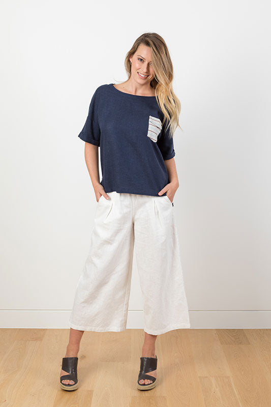 See Sally Linen Pants