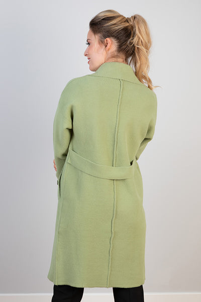 Mint Double Breasted Coat
