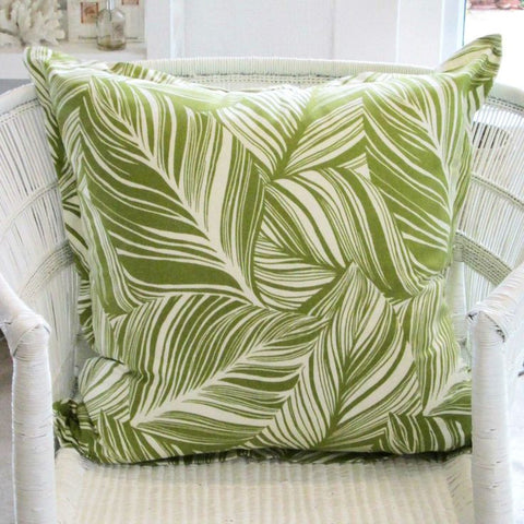 Green Leaf Scatter Cushion
