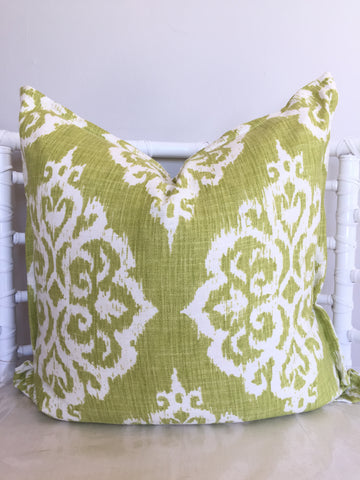 Lime Tangier Scatter Cushion
