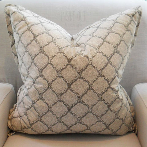 Grey Henna Scatter Cushion