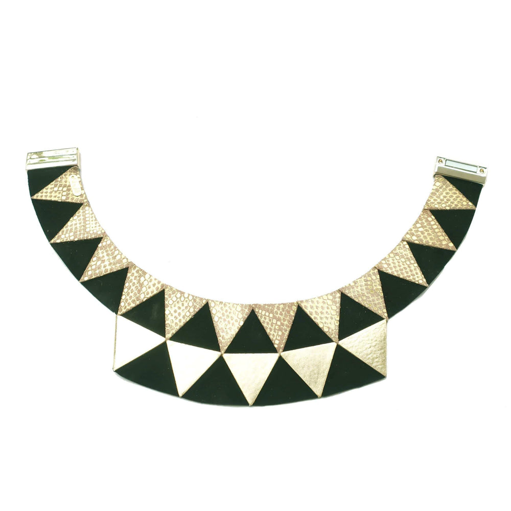 Nefertiti Gold Black choker