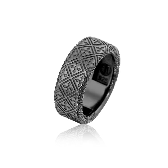 Octagon Patience Ring
