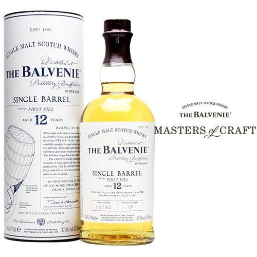 Balvenie 12 Year Old Single Barrel