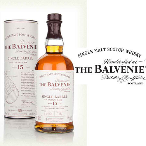 The Balvenie 15 Year Old Single Barrel Sherry Cask