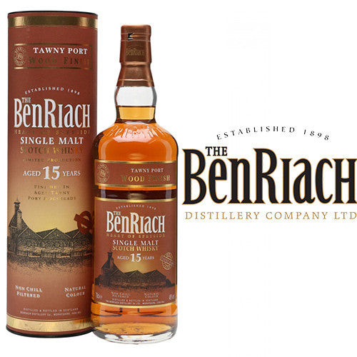 BenRiach 15 yo Tawny Port Wood Finish