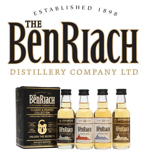 BenRiach Classic & Peated Collection