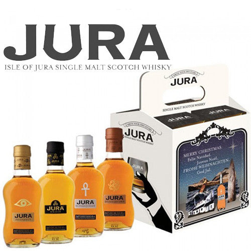 Isle of Jura Decouverte Pack 4 x 20 cl