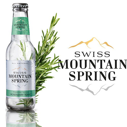 Swiss Mountain Spring Tonic Water Rosemary 20cl
