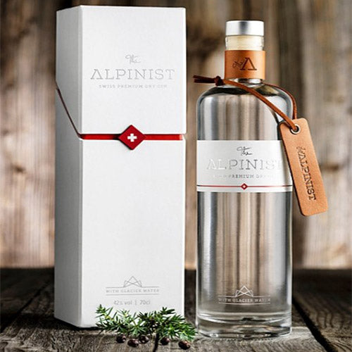 The Alpinist Swiss Premium Gin - Giftpack