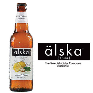 ÄLSKA CIDER - LEMON & GINGER