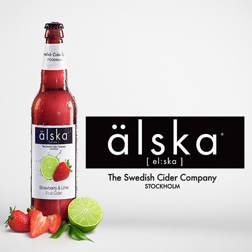 ÄLSKA CIDER - STRAWBERRY & LIME