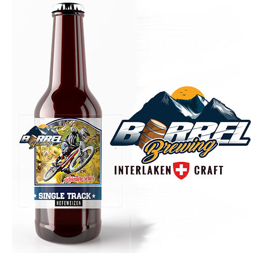 Barrel Brewing Co. - Single Track Weizen 50cl