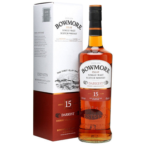 Bowmore 15 Year Darkest