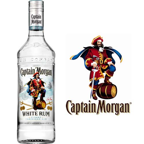 Captain Morgan White Rum 70cl