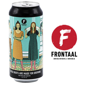 Frontaal - These Seats are made for Brewing
