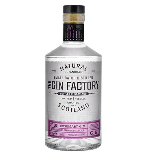 Gin Factory Limited Release Rosemary Gin 70c