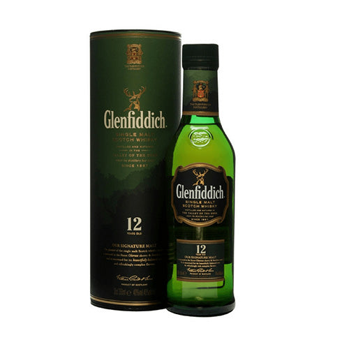 Glenfiddich 12 Years Single Malt Whisky 35cl