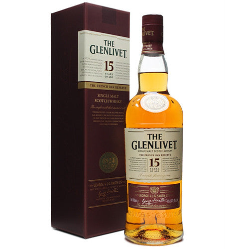 The Glenlivet French Oak Reserve 15 Years 40%vol