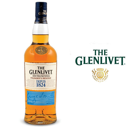 The Glenlivet Founder's Reserve - Swiss Ice Rocks 70cl