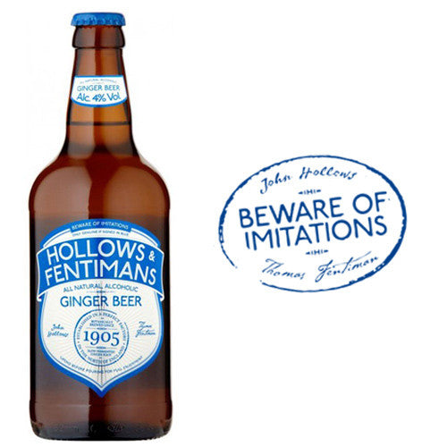 33cl Hollows & Fentimans Alcoholic Ginger Beer