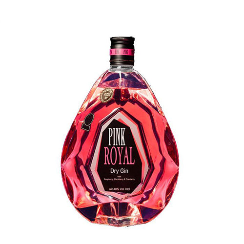 Pink Royal Dry Gin 70cl 40%