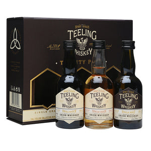Teeling Trinity Pack 3x5cl (Single Malt, Single Grain + Small Batch)