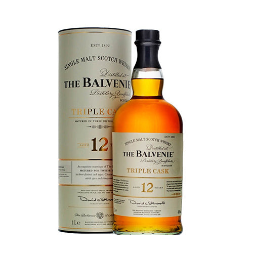 The Balvenie 12 Years Triple Cask