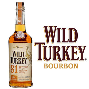 Wild Turkey Bourbon Whiskey 81