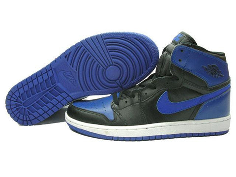 AIR JORDAN 1 (BLACK/ROYAL BLUE)