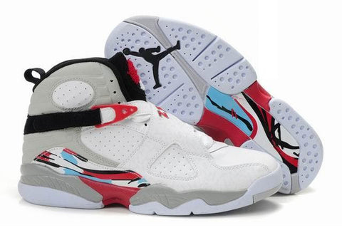 AIR JORDAN 8 (WHITE / BLACK - TRUE RED)
