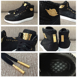 AIR JORDAN 1 (BLACK / GOLD 24K PINNACLE)