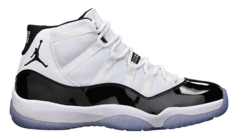AIR JORDAN 11 (WHITE/ BLACK - CONCORD)