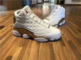 "AIR JORDAN 13 (WHITE / GOLD ""DMP"")"