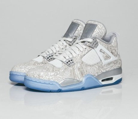 new product 3bd04 50437 Nike. AIR JORDAN 4 (WHITE LASER 30th ANNIVERSARY). US Mens Size