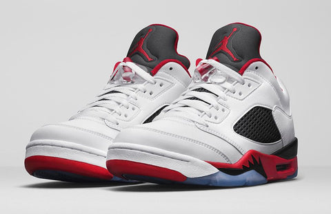 AIR JORDAN 5 LOW (FIRE RED)