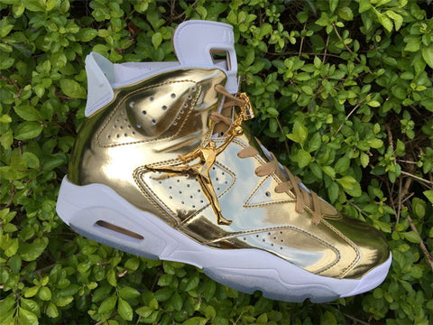 buy online 92e45 32b36 AIR JORDAN 6 (PINNACLE GOLD / WHITE)