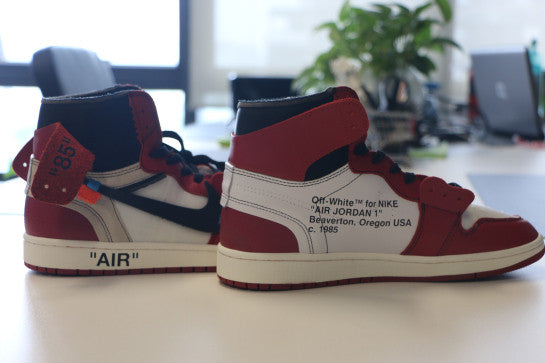 AIR JORDAN 1 (CHICAGO   OFF WHITE) – CrispyKicks ef45b4fe5